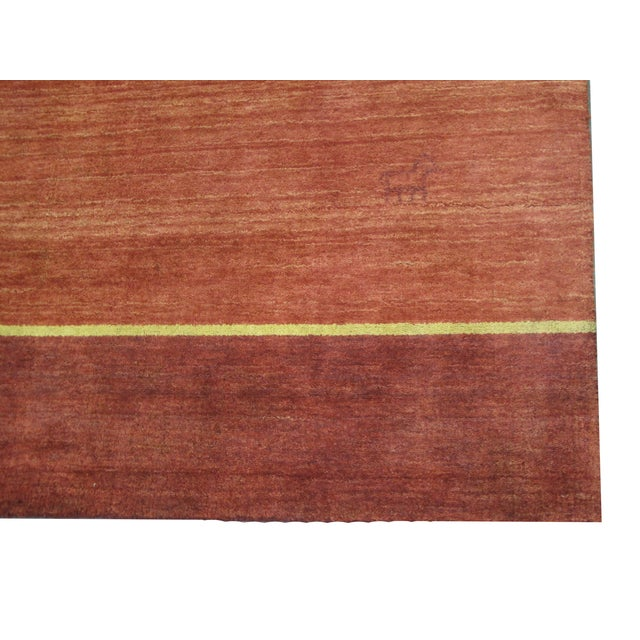 "Gabbeh Indian Rug - 8' X 9'5"" - Image 2 of 4"