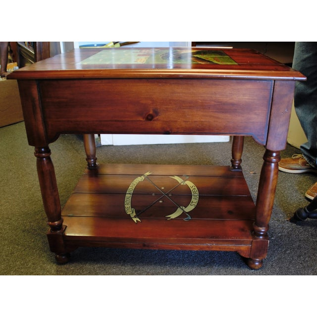 "St. Andrews ""Ireland"" Golf Club Side Table For Sale - Image 7 of 9"