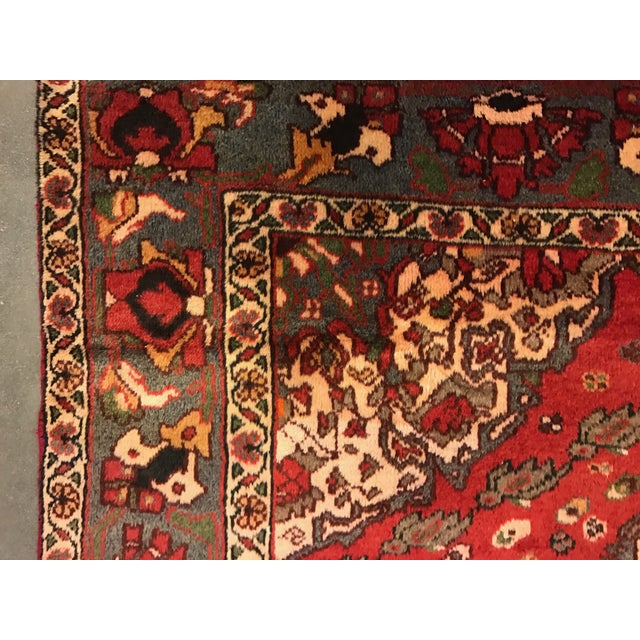 Large Hand Knotted Persian Rug - 6'11x10'0 - Image 9 of 11