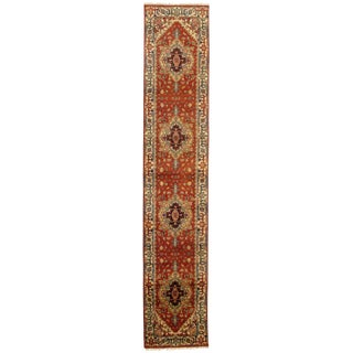 """Traditional Pasargad N Y Fine Serapi Design Hand-Knotted Rug - 2'8"""" X 13'10"""""""