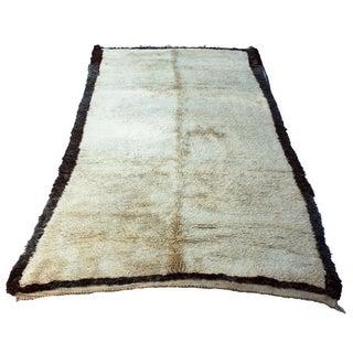 Vintage Moroccan Beni Ourain Rug