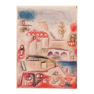 "1955 Paul Klee, First Edition Lithograph ""Place of Discovery"" For Sale"