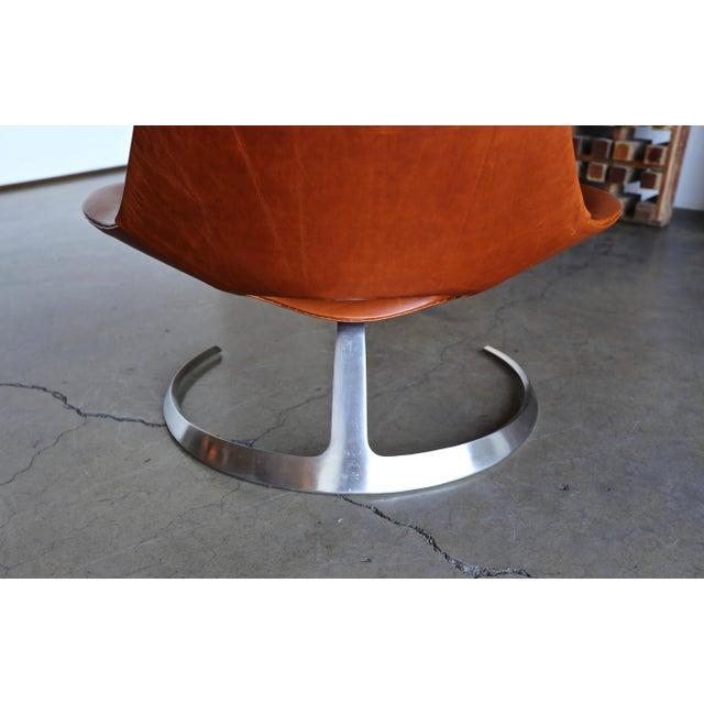 Mid-Century Modern Preben Fabricius & Jørgen Kastholm Scimitar Chairs by Ivan Schlecter Circa 1965 For Sale - Image 3 of 11