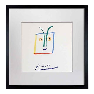 "1960s Absract Pablo Picasso Lithograph, ""El Fuerte Aqueo"" For Sale"