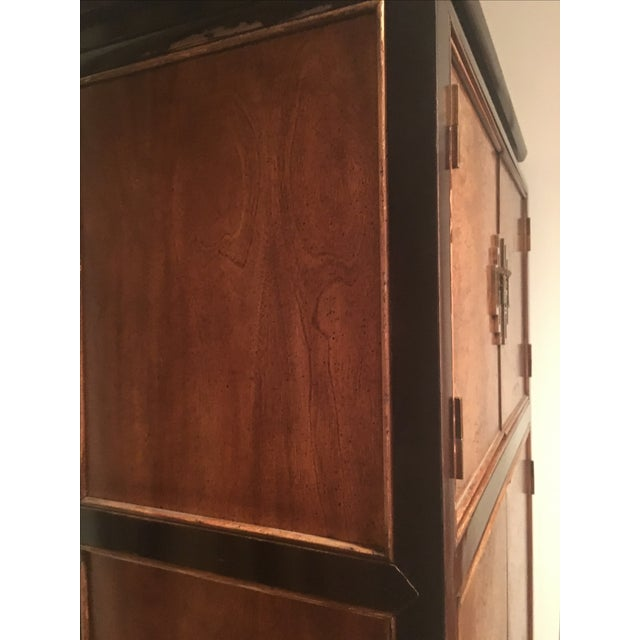 Century Furniture Ming Style Burl Airmoire - Image 8 of 9