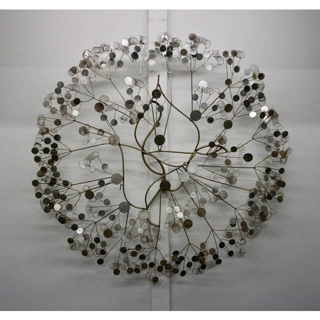 "Chrome Curtis Jere ""Raindrops"" Sculpture For Sale - Image 7 of 7"