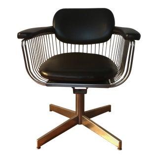 Mid Century Modern Warren Platner Wire Chair For Sale