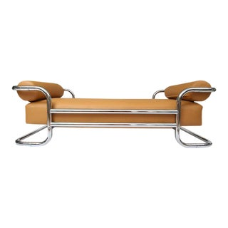 Emile Guillot for Thonet Attributed Bauhaus Daybed Sofa