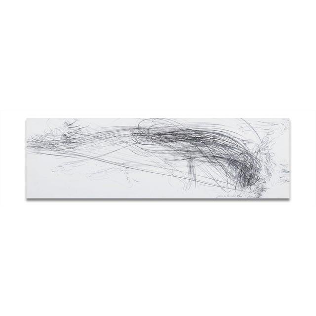 "Jaanika Peerna Jaanika Peerna ""Storm Series Horizontal 40"" Drawing For Sale - Image 4 of 4"