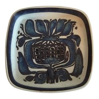 Vintage Royal Copenhagen Fajance Ceramic Dish For Sale
