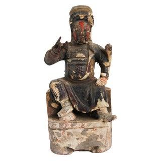 Original Wood Carved Emperor For Sale