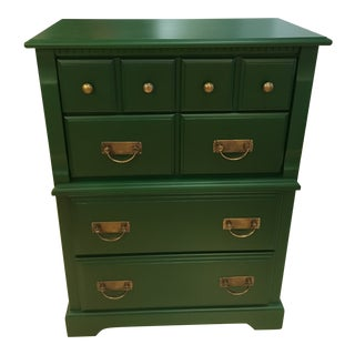 Vintage Tall Chest of Drawers For Sale