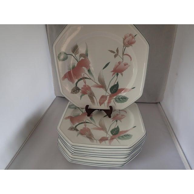Mikasa continental silk flowers dinner plates set of 9 chairish french country mikasa continental silk flowers dinner plates set of 9 for sale image mightylinksfo