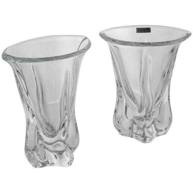 Pair of Vannes Crystal Vases - Image 10 of 10