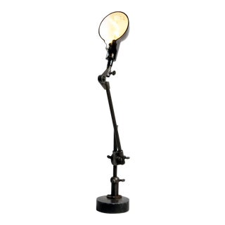 Vintage Articulating Desk Lamp For Sale