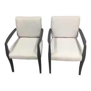 1980s Upcycled Dining Chairs - A Pair For Sale