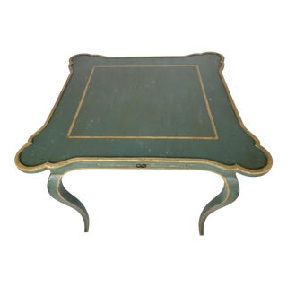 1960s French Minton-Spidell Game Table For Sale