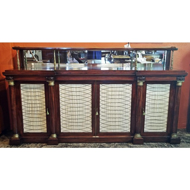 Early 19c English Chiffonier in the Manner of Gillows For Sale - Image 13 of 13