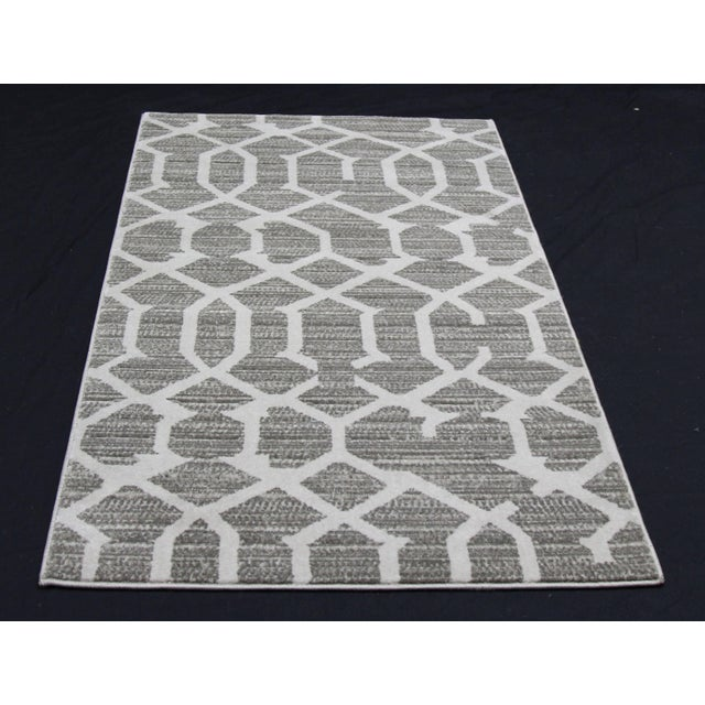 Gray Lattice Small Mat- 2′8″ × 5′ - Image 2 of 3