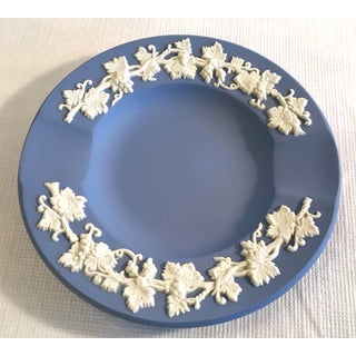 Vintage Wedgwood Blue Fine China Ashtray Preview