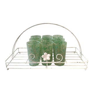 Vintage Cocktail Garden Set - Set of 10 For Sale