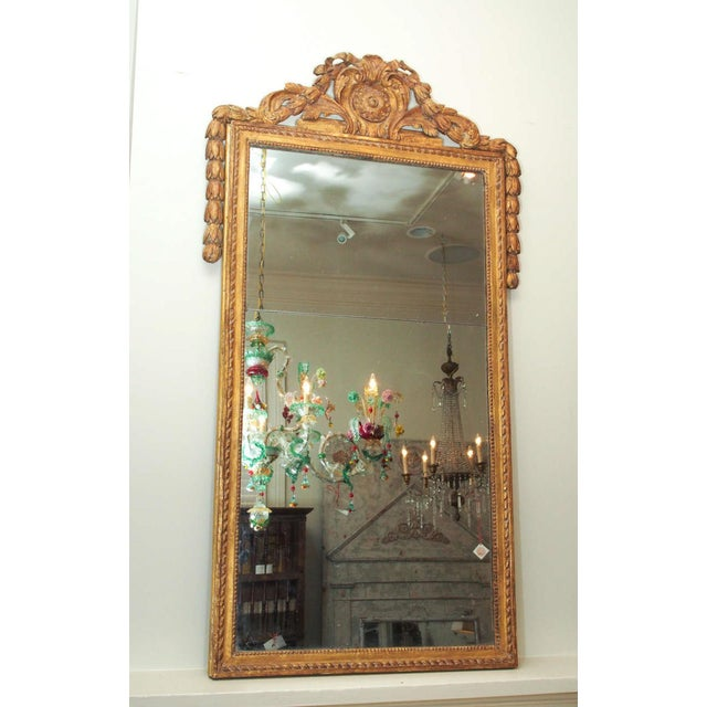 Finely Carved Louis XVI Style Mirror - Image 2 of 8