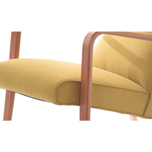 Mid-Century Modern Thonet Mid-Century Modern Bentwood Style Lounge Chair For Sale - Image 3 of 5
