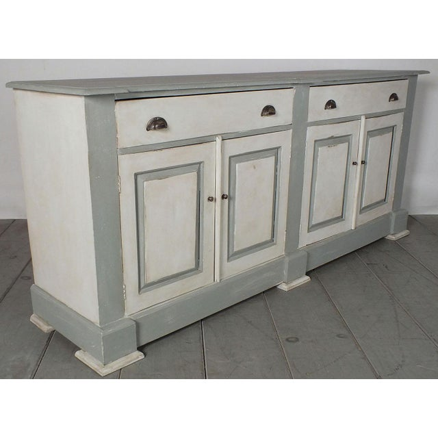 1970's French Country Painted Buffet - Image 4 of 10