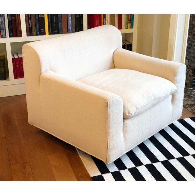 White 1960s Vintage Knoll Lounge Chair For Sale - Image 8 of 12