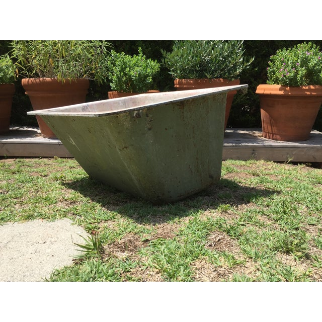 Cast Iron Antique Salvage Utility Sink - Image 8 of 12