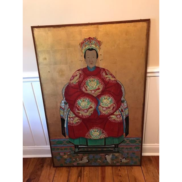 Chinese Ancestral Portrait - Image 2 of 4