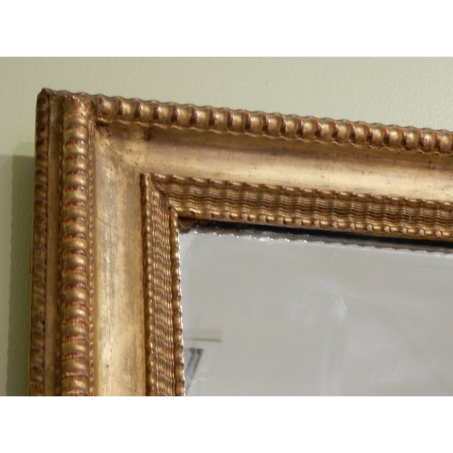 19th Century French Charles X Gilt Mirror / Mercury Glass For Sale In New Orleans - Image 6 of 10