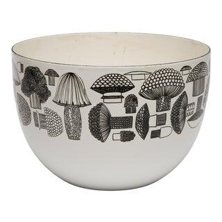 Kaj Franck Finel Arabia Finland Enamel Mushroom Bowl For Sale