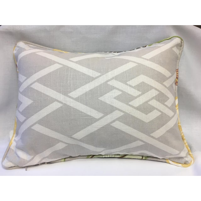 This beautiful Japanese inspired pillow is made using fabric from the Imperial Treasure Collection. The front is primarily...