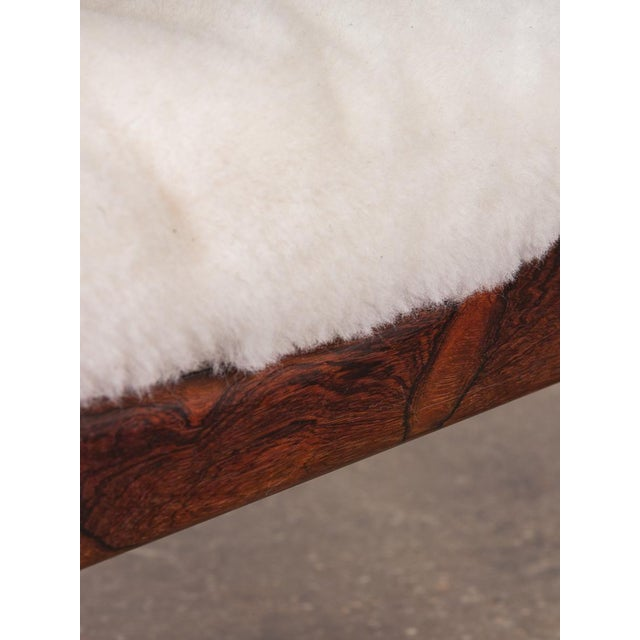 Kristian Vedel Sheepskin Modus Lounge Chairs - a Pair For Sale - Image 12 of 13
