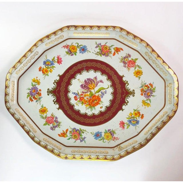 Vintage Daher Tin Tray For Sale In Atlanta - Image 6 of 6