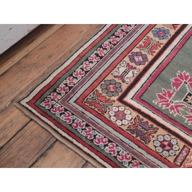 Tribal Antique Kirsehir Rug For Sale - Image 3 of 8