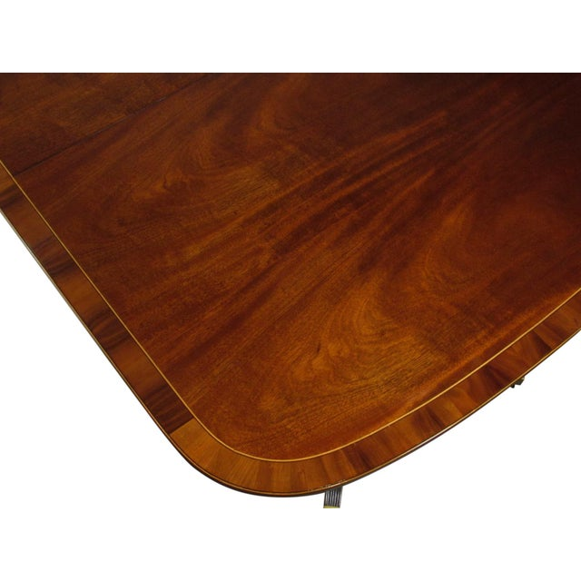 English Regency-Style Dining Table For Sale - Image 11 of 13