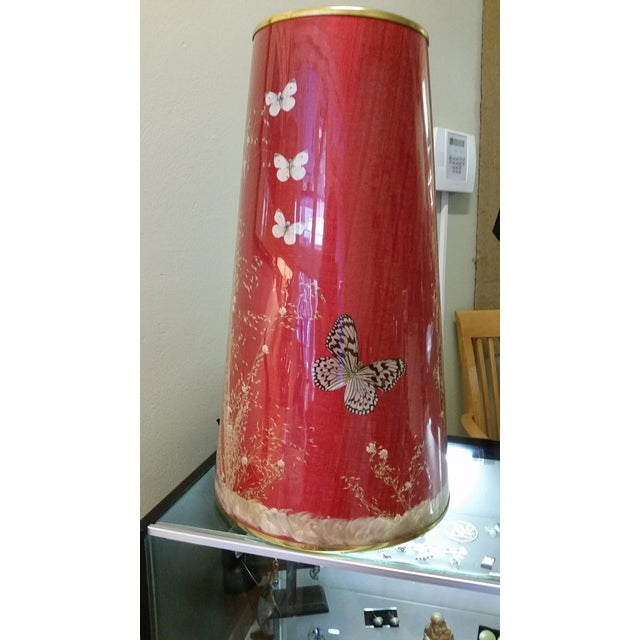 Mid-Century Modern Pearsall Style Walnut Lamp - Image 10 of 11