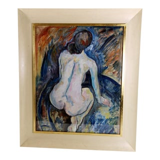 20th Century Expressionist Russian Painting For Sale