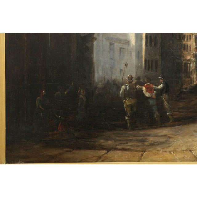 Sir William Allan Oil Painting Of The Arrest Chairish