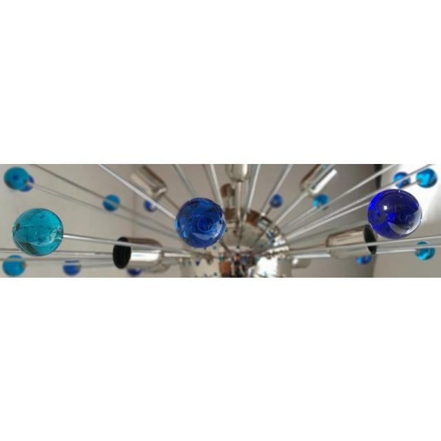 Contemporary Murano Glass Triedo Sputnik Chandelier For Sale - Image 10 of 11