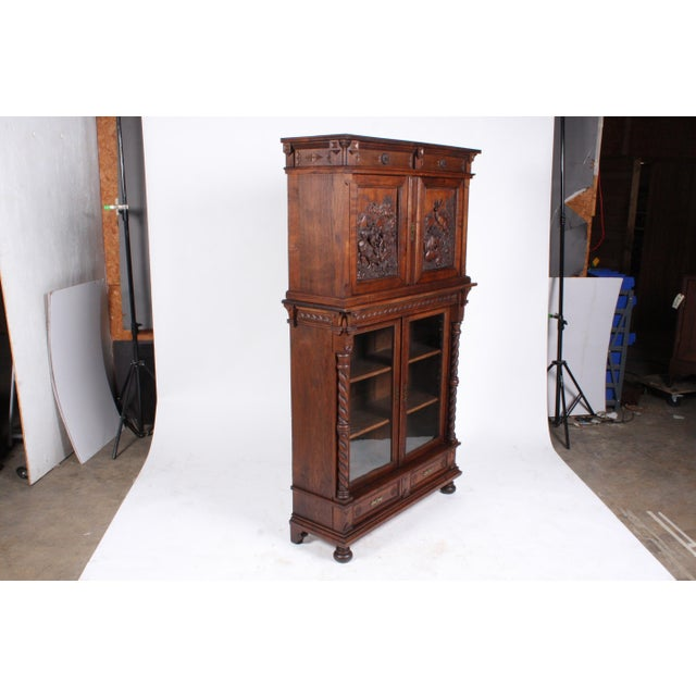 19th-Century Black Forest German Cabinet - Image 2 of 11