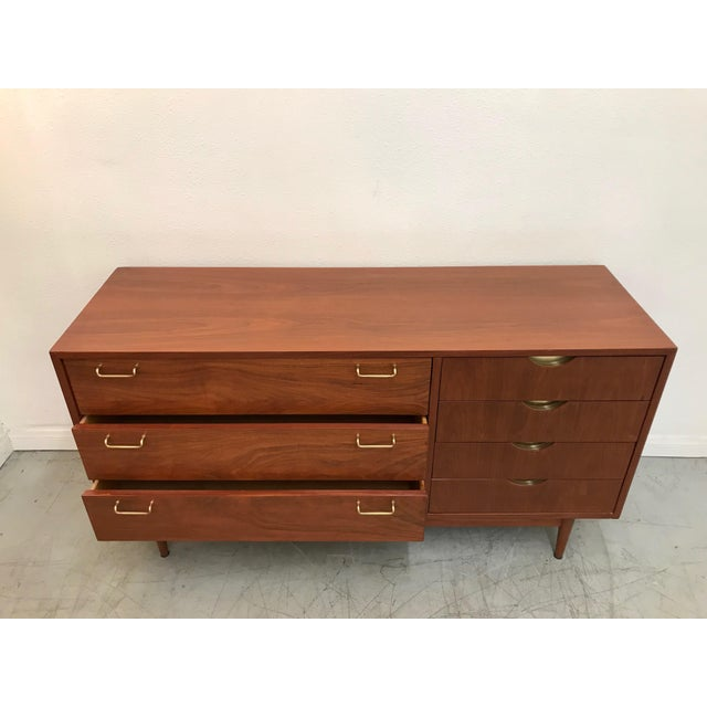 1970s Mid Century ModernAmerican of Martinsville Credenza For Sale In Los Angeles - Image 6 of 12