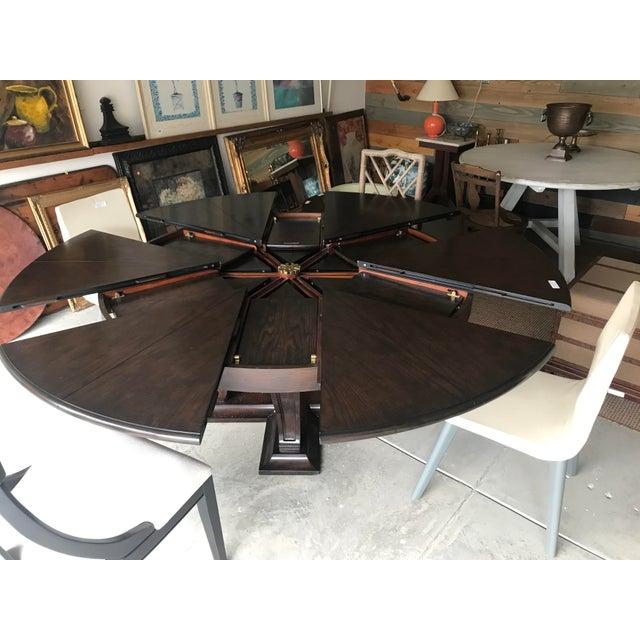 Sarreid Ltd. Soho Jupe Dining Table For Sale - Image 4 of 12