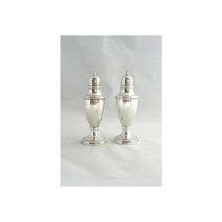Rogers Sterling Salt & Pepper Shakers - A Pair Preview
