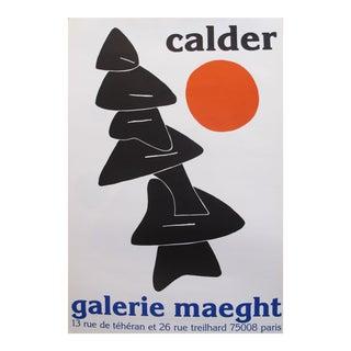 1976 Original Exhibition Poster - Galerie Maeght - Calder For Sale
