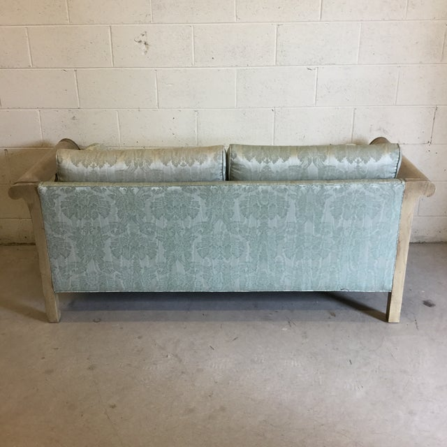1970s Palm Beach Regency Style Fretwork Love Seat For Sale - Image 5 of 11