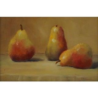 """Helene Robinson """"Golden"""" Oil Painting For Sale"""