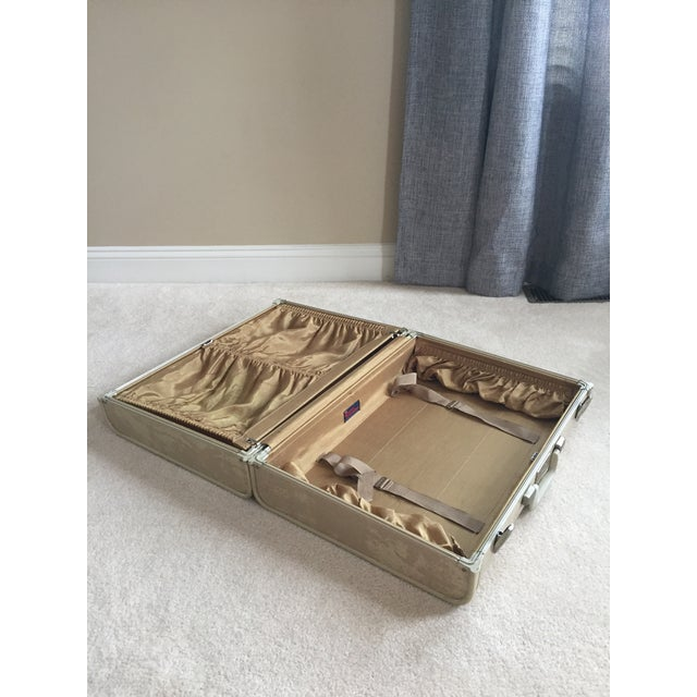 Plastic Vintage Royal Traveler Suitcase For Sale - Image 7 of 11